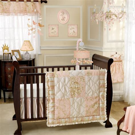 lambs and ivy little princess nursery decor and bedding