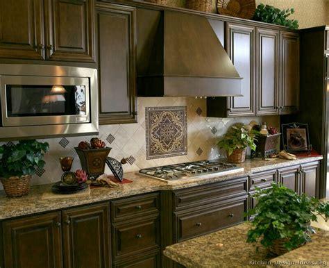dark walnut kitchen cabinets pictures of kitchens traditional dark wood kitchens