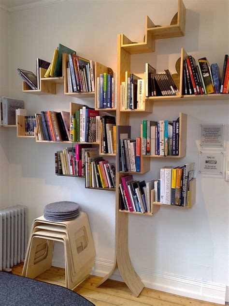Tree Book Rack by 10 Best Tree Like Bookshelves