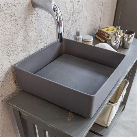 lavello vetroresina lavandino in resina modello trabocchetto grey di cip 236