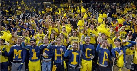 michigan basketball student section the power of sports chants and ritual the political habitat