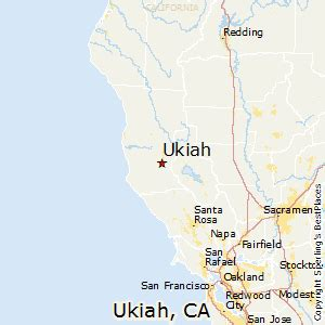 ukiah california map best places to live in ukiah california