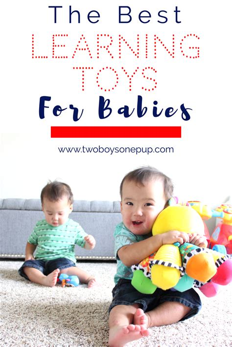best learning toys for babies the best learning toys for babies two boys one pup