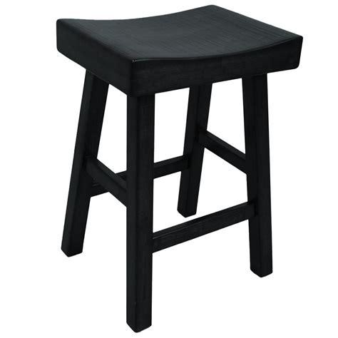 Saddle Seat Counter Stool Black by Black Saddle Bar Stools Wendlerlaw