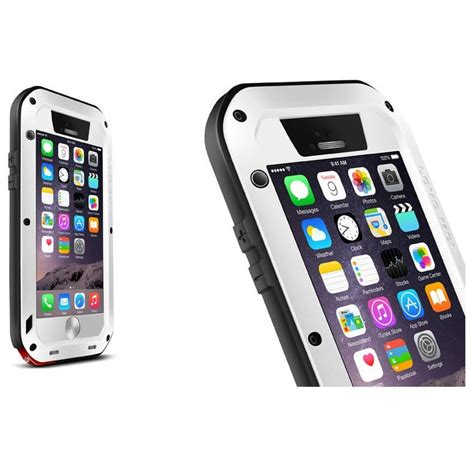 Murah Mei Powerful For Iphone 6 mei powerful aluminium bumper for iphone 6 white jakartanotebook