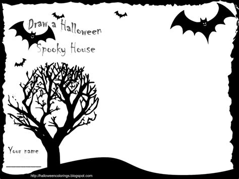 halloween coloring pages activities halloween colorings