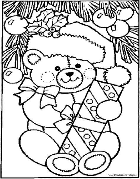 imagenes feliz navidad para colorear dibujos de navidad oso de navidad para colorear