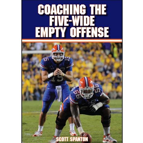 coaching football s 50 defense coaching the five wide empty offense book format