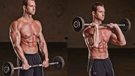 barbell curl bodybuilding wizard