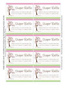 gallery for gt diaper raffle tickets template printable