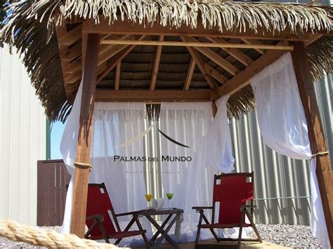 Tiki Cabana Thatch Roof Kits For Deck Cabana Palapa Gazebo Tiki Huts