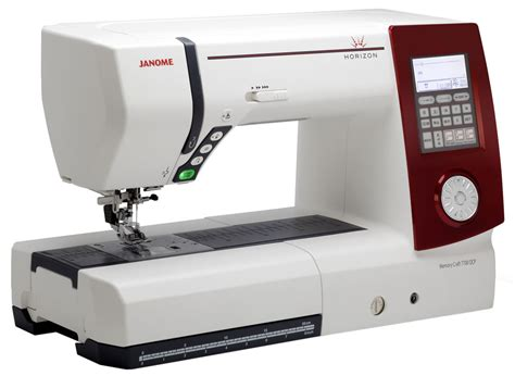 Sewing And Quilting Machines by Janome Horizon 7700 Qcp Computer Sewing Quilting Machine