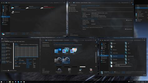 themes windows 10 skin steamyblue windows10 theme by f3nix69 on deviantart