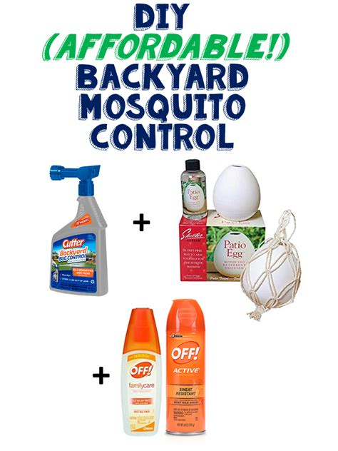 live and learn diy affordable backyard mosquito