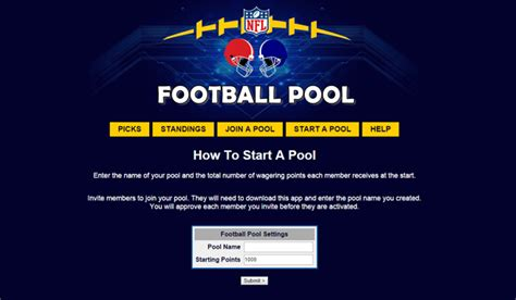 Office Football Pool Iphone App Nfl Pool Office Football Pool Android Apps On Play