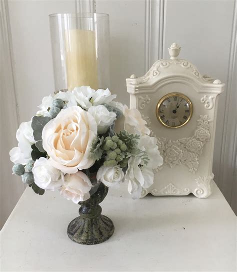 flower home decor floral home decor shabby chic flowers cottage chic decor