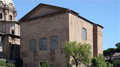 roman senate house the curia roman senate house roman forum rome italy pinterest