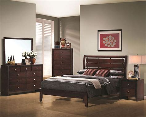 coaster bedroom sets coaster bedroom set serenity co201971set