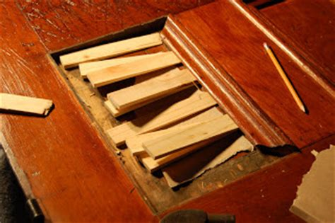 how to fix wood paneling the old house blog how to repair a split in a wood door panel