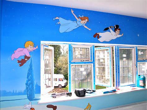 peter pan bedroom ideas peter pan mural tinkerbell disney mural cinderella fairy