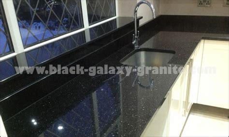 Oak Cabinet Kitchen prefabricated kitchen countertops black galaxy granite