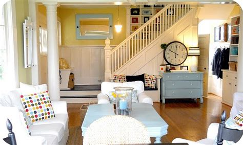 canadian home design blogs living room the modern cottage a pop of pretty blog