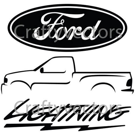 ford logo clip ford lightning logos vector