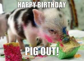 Piglet Meme - pig meme happy birthday pig out pork production