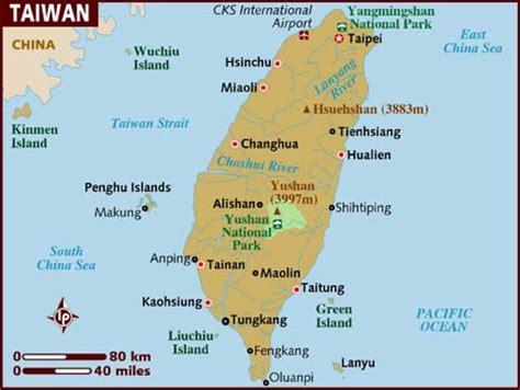 Taiwan Search Map Of Taiwan