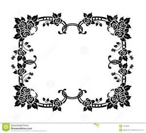 decorative border ornament royalty free stock photos