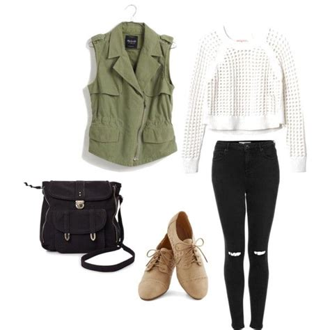 iloveclothesxo  polyvore teen outfit casual