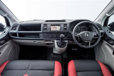 vw transporter 6 interieur vw launches transporter kombi sportline business vans