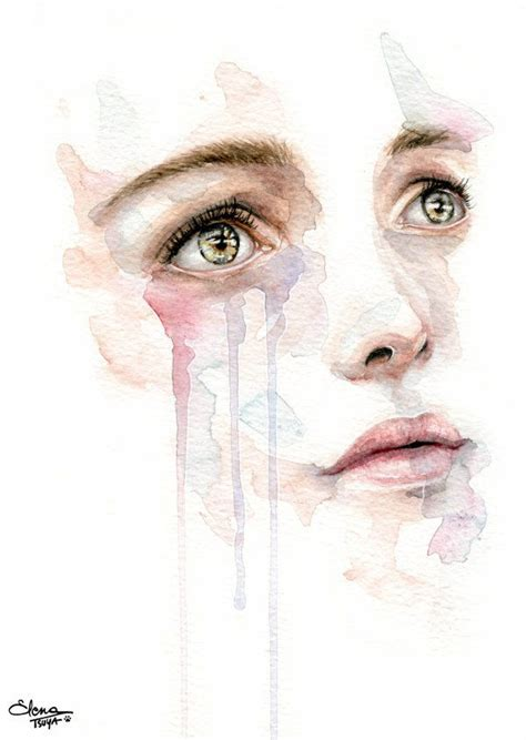 painting workshop faces 25 best ideas about watercolor on