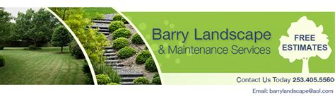 welcome to barry landscape maintenance