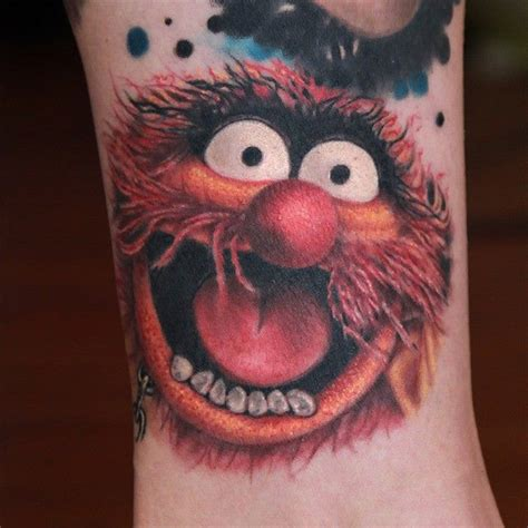muppet tattoo animal muppet best design ideas