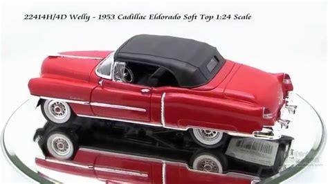 Welly Nex 53 Cadillac Eldorado 22414h 4d welly 1953 cadillac eldorado 124 scale diecast wholesale