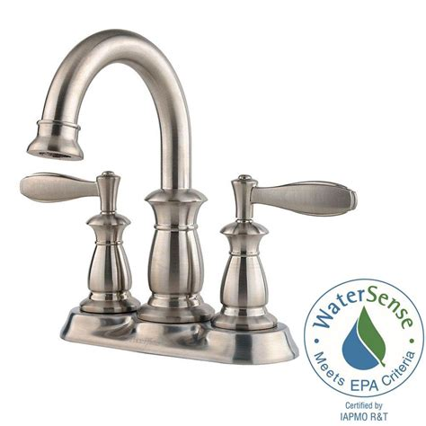 high arc bathroom faucet pfister langston centerset high arc bathroom faucet