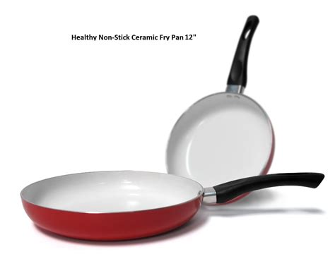 Teflon Fry Pan healthy nonstick 12 inch ceramic coated frying pan eco