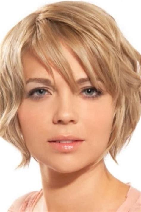 hairstyles for fine thin hair square face 15 best collection of short haircuts for fine hair and
