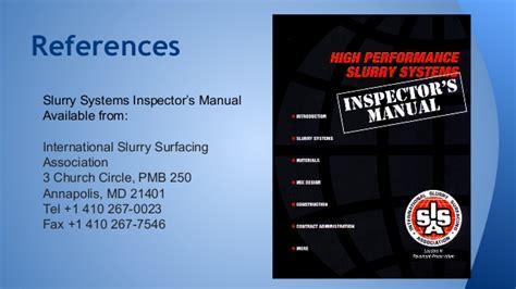 Slurry Seal Presentation For Calapa La Tech Meeting