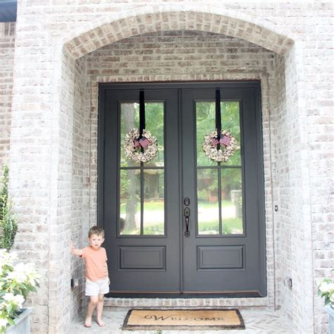25 best ideas about black front doors on paint doors black black door and black
