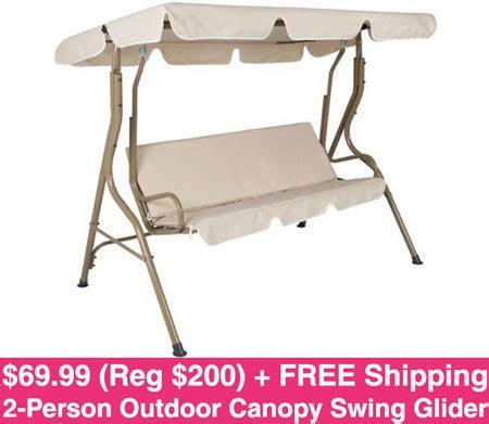 kroger swing hot 68 94 reg 200 outdoor patio swing free shipping