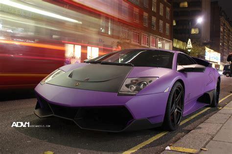 Matte Purple Lamborghini Matte Purple Lamborghini Lp 670 4 Sv Becomes Chrome Purple