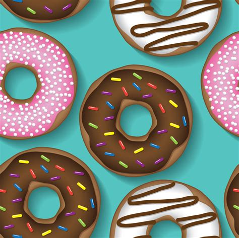 repeating pattern brush doughnut repeating pattern photoshop vectors