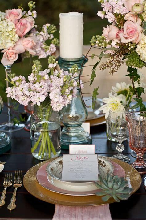 decorar mesa de boda como decorar una boda country shabby chic original