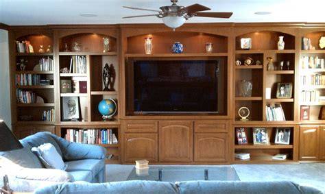 Handmade Entertainment Units - custom wall units and entertainment centers c l design