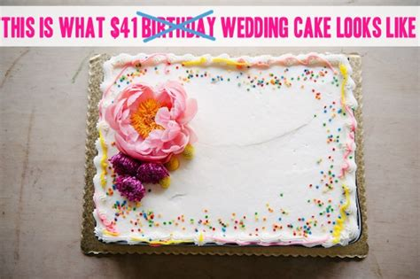 Grocery Store Wedding Cakes by How To Make A Wedding Cake For 50 Using A Grocery