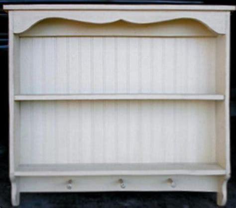 country plate shelf beadboard plate shelf with pegs