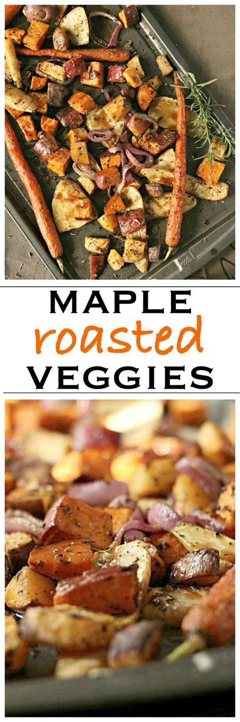maple roasted root vegetables maple balsamic roasted vegetables recipe vegetables