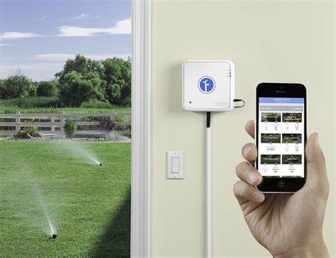 rachio iro smart wifi enabled irrigation controller